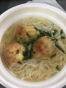 上原勇一郎と明石焼とそうめんのスープ